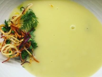 Potato & Leek Soup with Thyme Vitality EO
