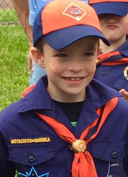 shawn boyscouts ceremony