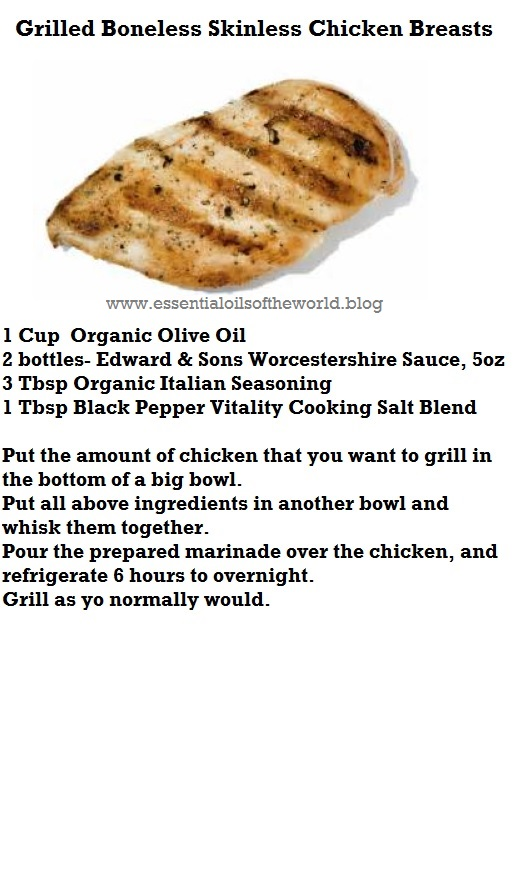 grilled chicken black pepper vitality