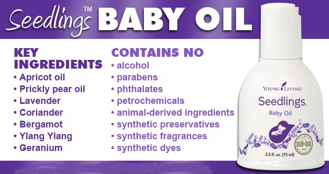 seedlings baby oil